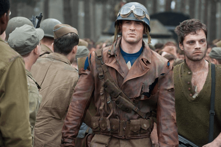 《美國隊長》(Captain America) 電影劇照。