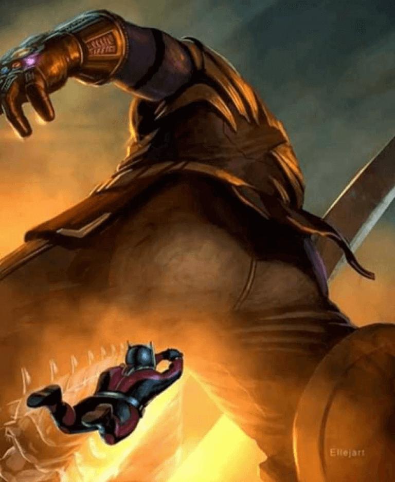 網友期待《復仇者聯盟4:終局之戰》(Avengers: Endgame) ,蟻人可以偷襲薩諾斯。