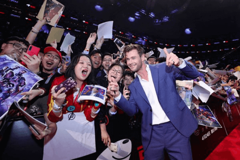 《復仇者聯盟4:終局之戰》(Avengers: Endgame) 上海首映會。