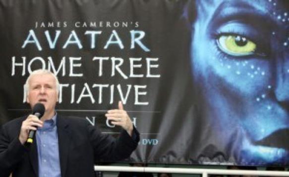 《阿凡達》(Avatar) 由詹姆斯卡麥隆 (James Cameron) 執導。