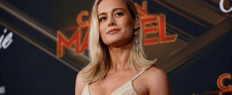 了布麗拉森(Brie Larson) 飾演驚奇隊長 (Captain Marvel) 。