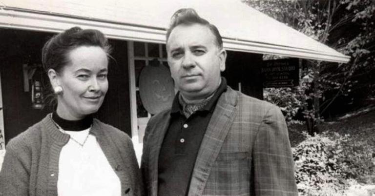 蘿琳華倫與先生艾德華倫,他們是美國著名的靈異現象調查者。