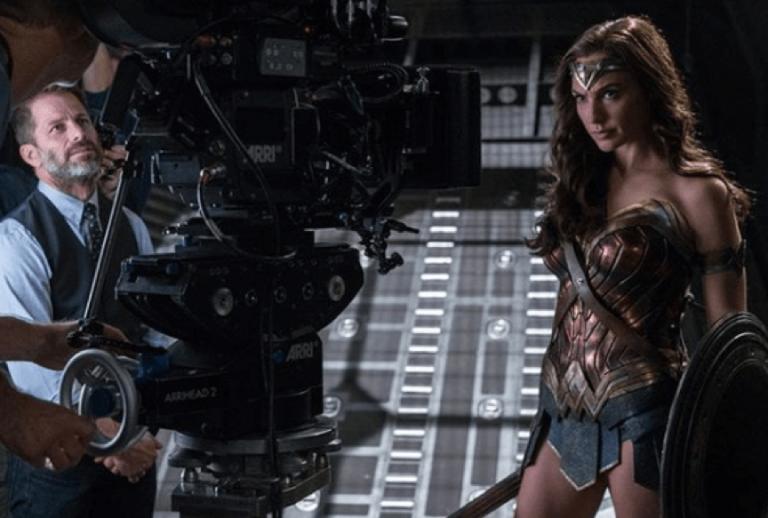《正義聯盟》(Justice League) 幕後花絮。