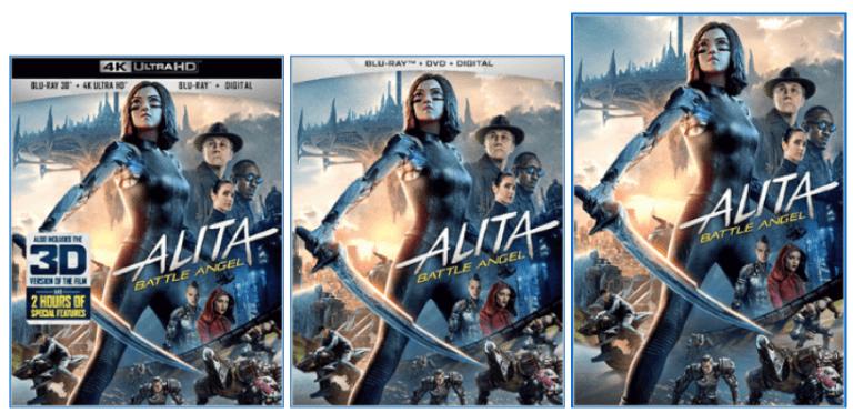 《艾莉塔:戰鬥天使》各個家用媒體