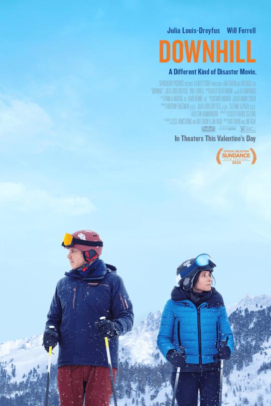 由茱莉路易絲卓佛(Julia Louis-Dreyfus) 與威爾法洛 (Will Ferrell) 主演的《下坡人生》(Downhill)