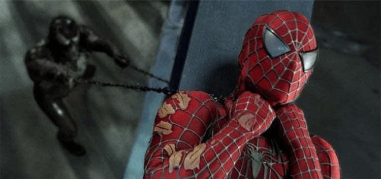 山姆雷米執導,陶比麥奎爾主演的《蜘蛛人3》電影製作時遭影業干涉,最後成品觀眾不買單。