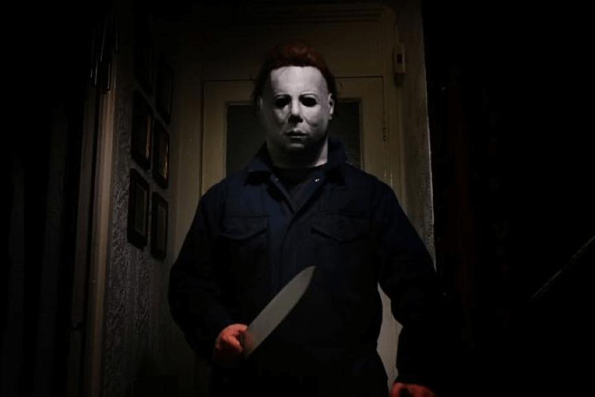 《 月光光心慌慌 》 面具殺人魔 : 麥可邁爾斯 (Michael Myers)。