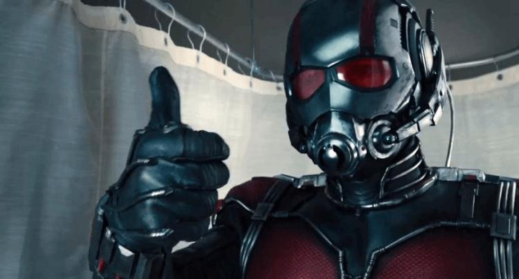 漫威超級英雄電影《蟻人》劇照。
