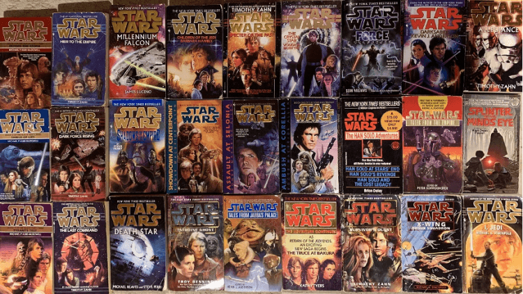 《星際大戰》系列小說。