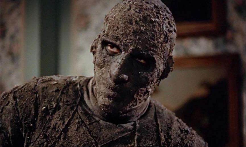《 永眠的詛咒 》中,飾演 木乃伊 的 鬼王 : 克里斯多福李 。
