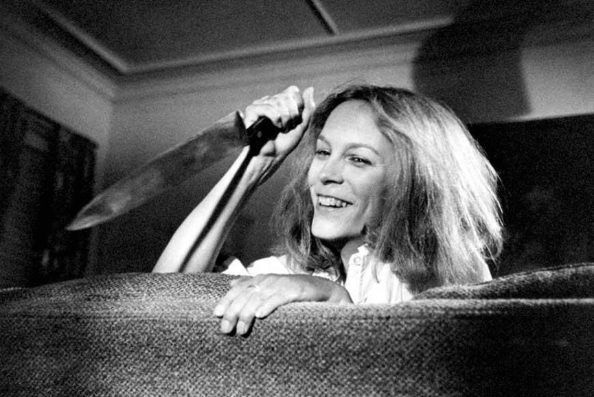 1978 年《 月光光心慌慌 》 女主角 潔美李寇帝斯 。