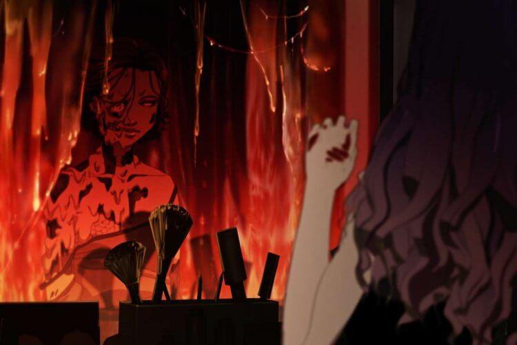 《整容液》動畫電影劇照。