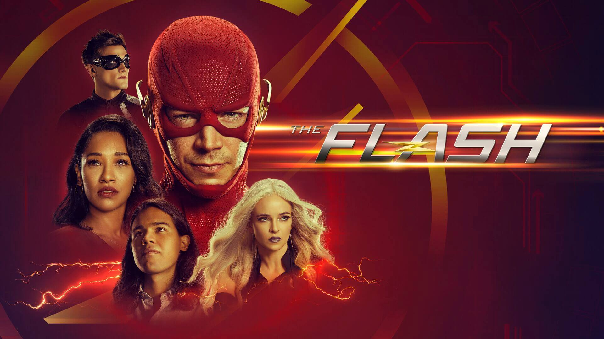 Warner TV 超級英雄影集《閃電俠》海報。