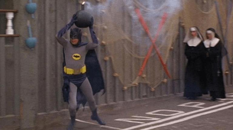 1966 年版《蝙蝠俠》電影。