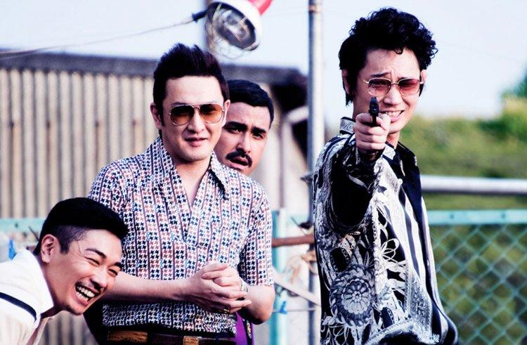 白石和彌導演,綾野剛主演的真人真事改編電影《極惡刑事》。