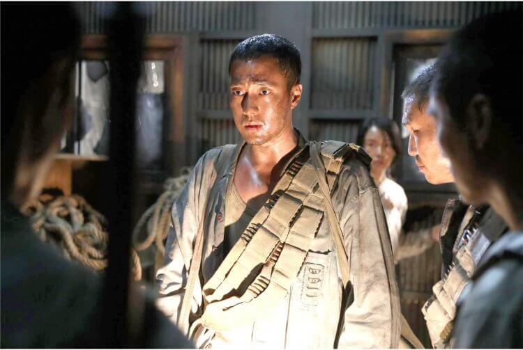 韓國電影《軍艦島》劇照。