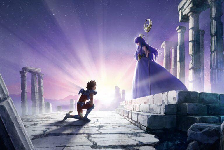 動畫影集《Knights of the Zodiac:聖鬥士星矢》即將於 Netflix 平台推出。