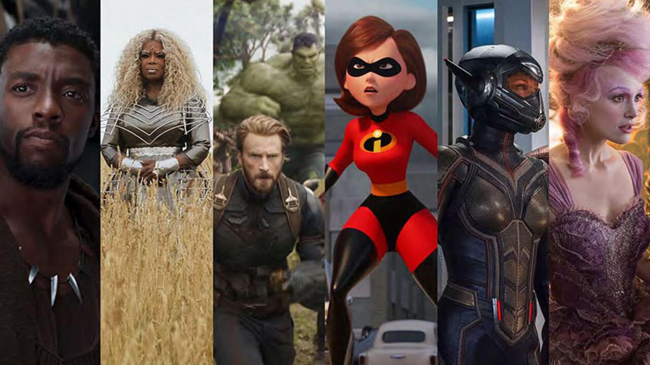 全球最會賺錢的老鼠!迪士尼旗下電影 2018 北美總票房已破 30 億美元首圖