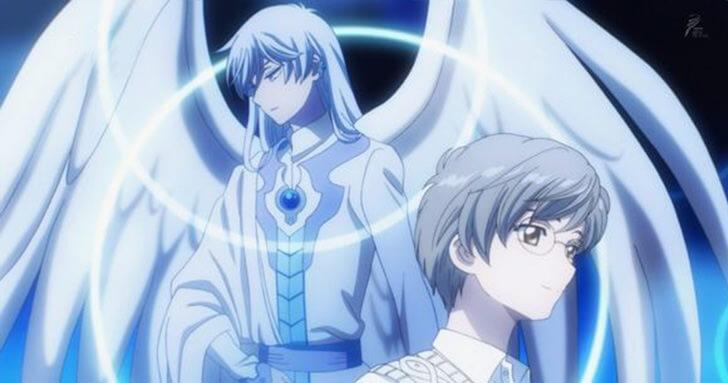 緒方惠美在動畫系列《庫洛魔法使》中擔任「月」及「月成雪兔」的配音聲優。