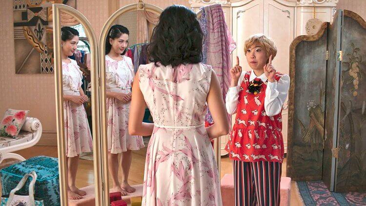 奧卡菲娜 在《瘋狂亞洲富豪》中的角色討喜逗趣,受觀眾喜愛。
