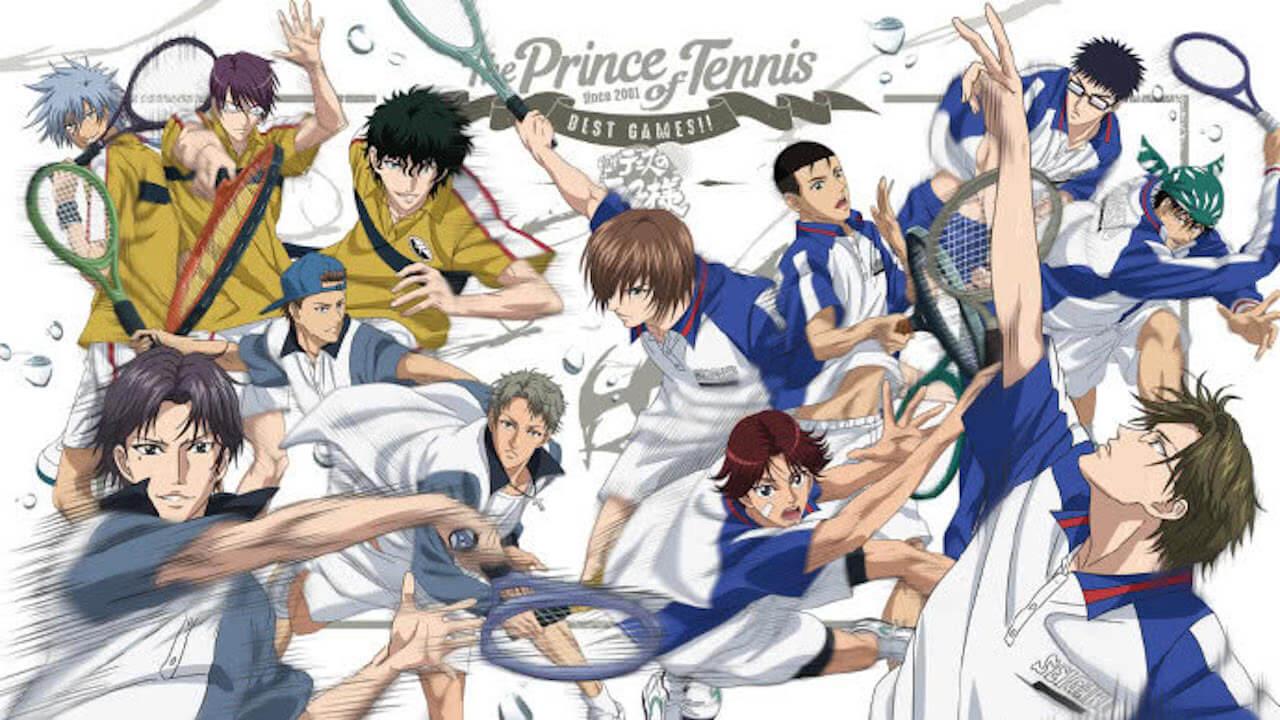 《網球王子BEST GAMES!! 》第二彈台灣場獨家特映會 6 月 16 日登場!!首圖