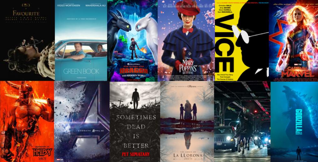 【影迷必收清單】一部都不能少! 2019上半年值得期待的19部電影 ——首圖