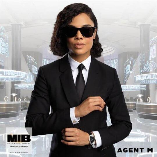 《MIB 星際戰警:跨國行動》中的全新角色,由泰莎湯普森飾演的「探員 M」茉莉。