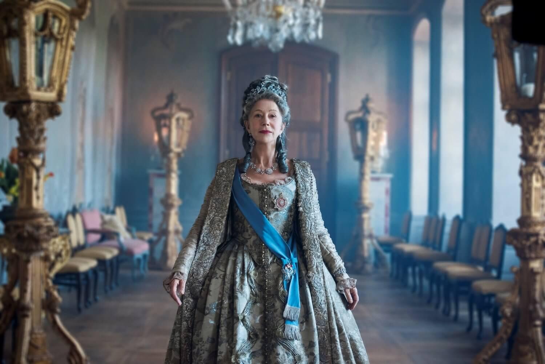HBO 迷你影集《凱薩琳大帝》劇照。