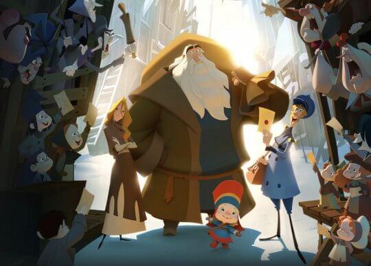 《克勞斯:聖誕節的秘密》入圍奧斯卡最佳動畫。