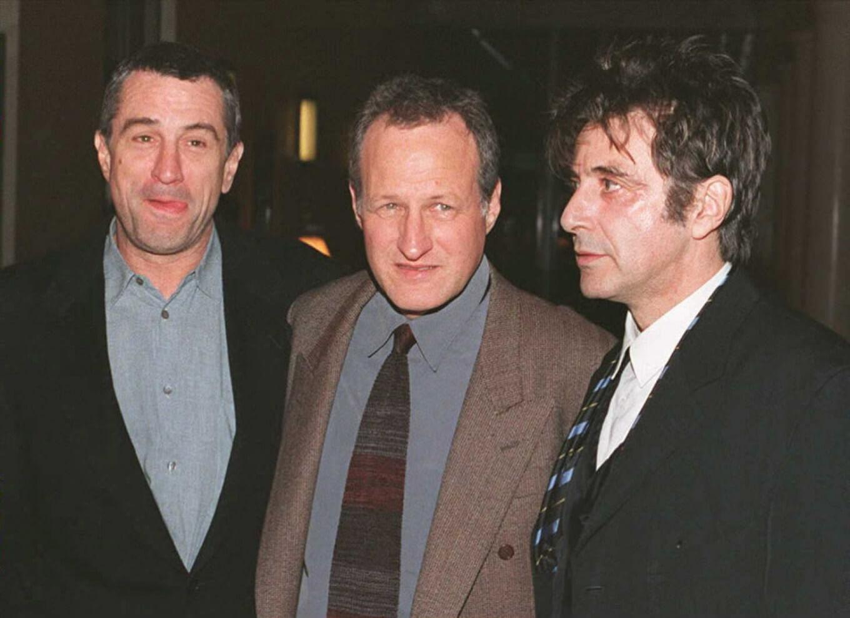 《烈火悍將》導演麥可曼恩與演員艾爾帕西諾、勞勃狄尼洛。