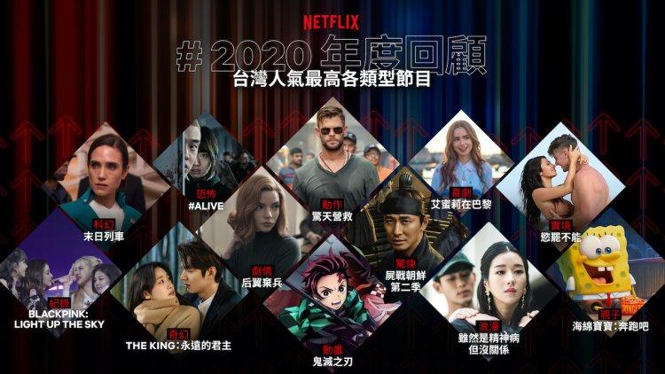 2020 年 Netflix 人氣冠軍揭曉:《后翼棄兵》《屍戰朝鮮》《艾蜜莉在巴黎》上榜;《機智醫生生活》搶下年度佔榜王首圖