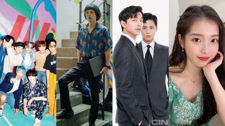 2020韓國民眾最愛藝人出爐!「他」得票率創新高,勝過BTS、IU成功蟬聯冠軍首圖