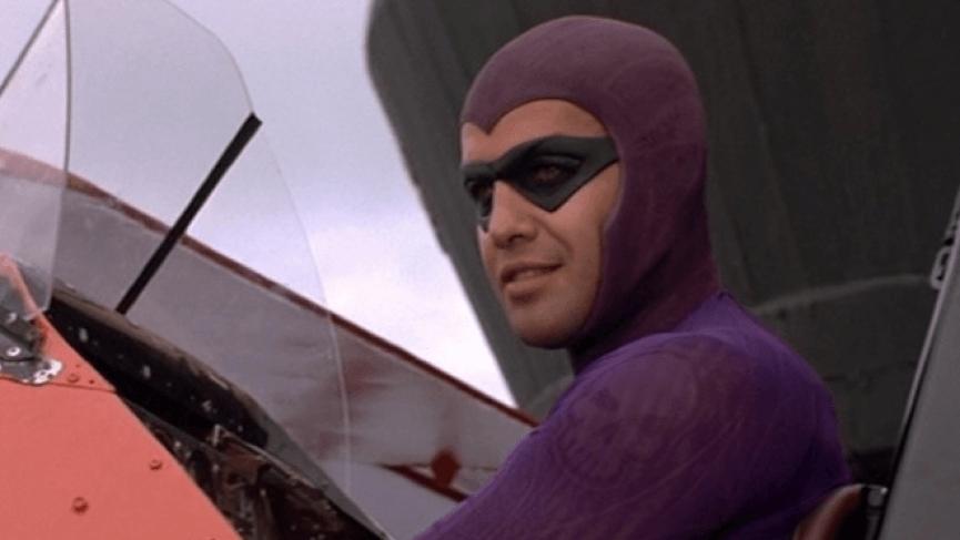 比利贊恩在《轟天奇兵》中的超級英雄裝束。