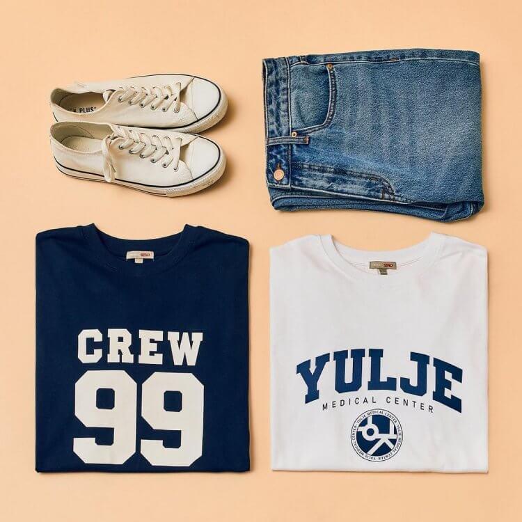 SPAO與《機智醫生生活》推出「五人幫CREW」與「律帝醫院」款T-Shirt
