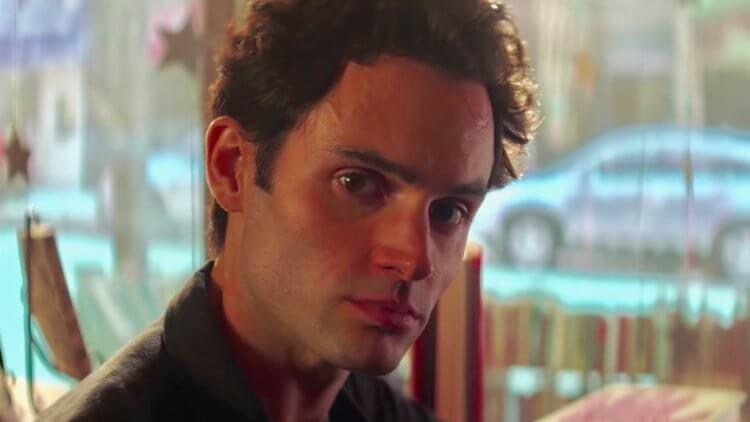 Netflix 原創影集《安眠書店》中由潘巴奇利飾演的恐怖情人喬。
