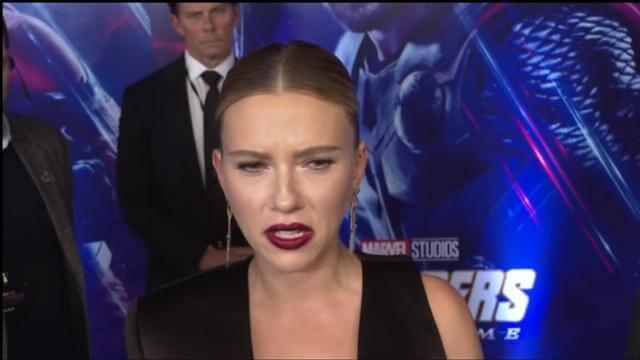 《復仇者聯盟:終局之戰》(Avengers: Endgame) 訪談照片。