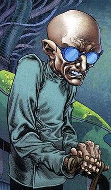 DC 漫畫中的超級反派:希瓦納博士。