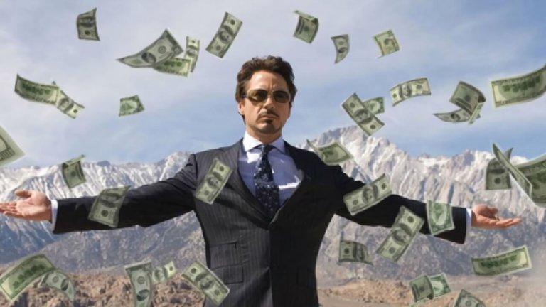 小勞勃道尼 (Robert Downey Jr.) 因主演《鋼鐵人》(Iron Man) 一角而翻身。