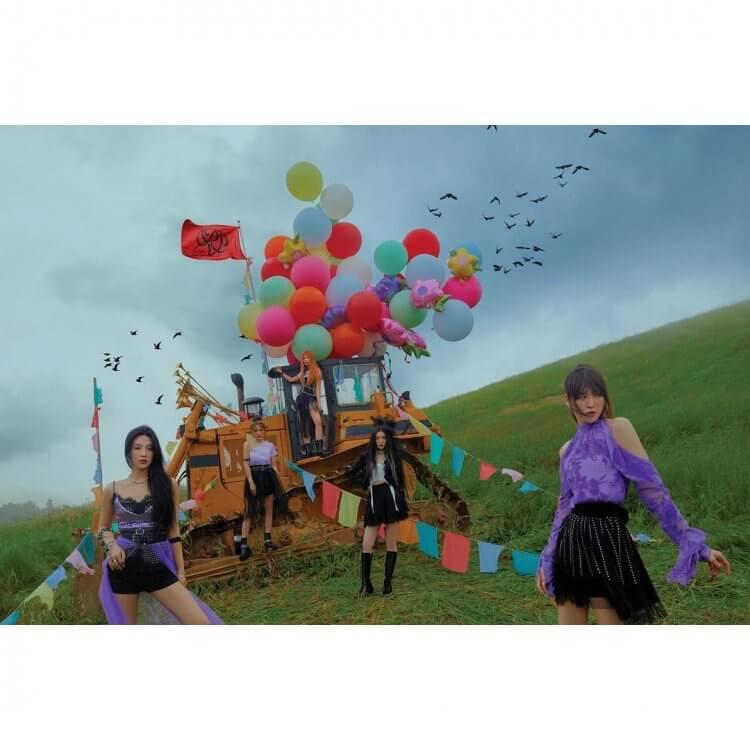 Red Velvet全新迷你專輯《Queendom》宣傳照