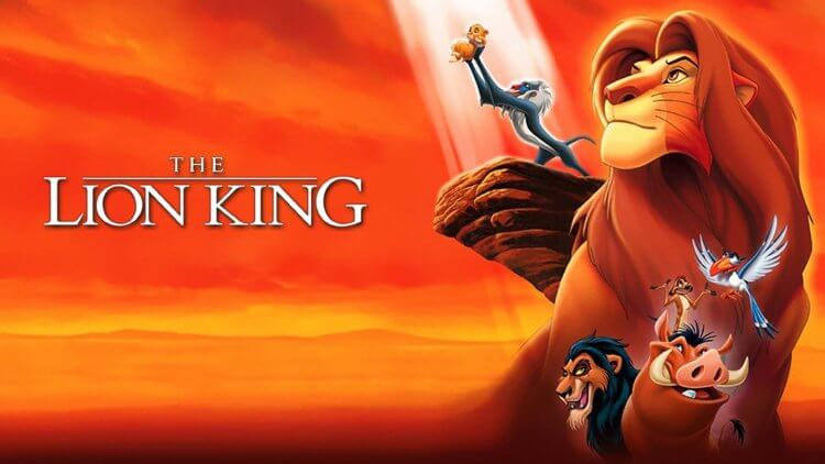 1994 年《獅子王》動畫