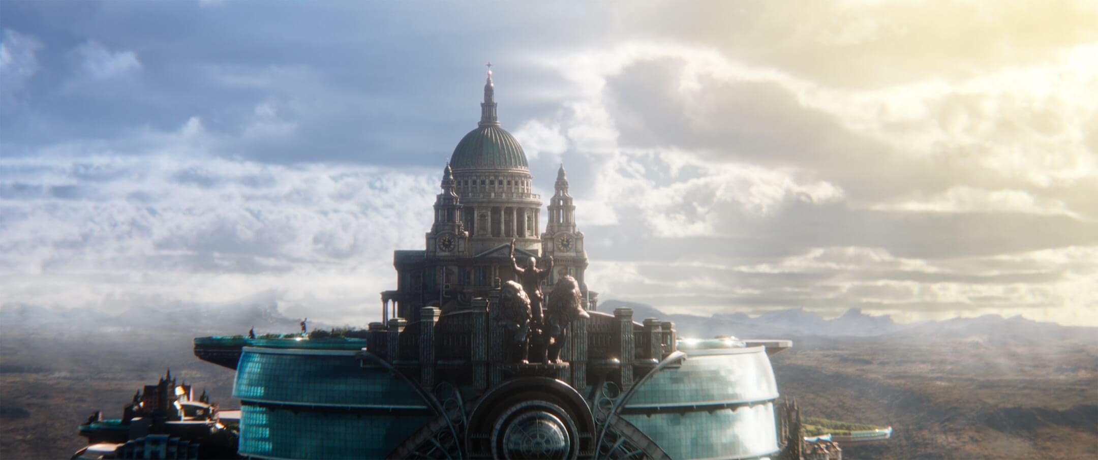 《 移動城市:致命引擎 》劇照 哈比人 團隊 精心打造科幻冒險氣氛 視覺特效精細