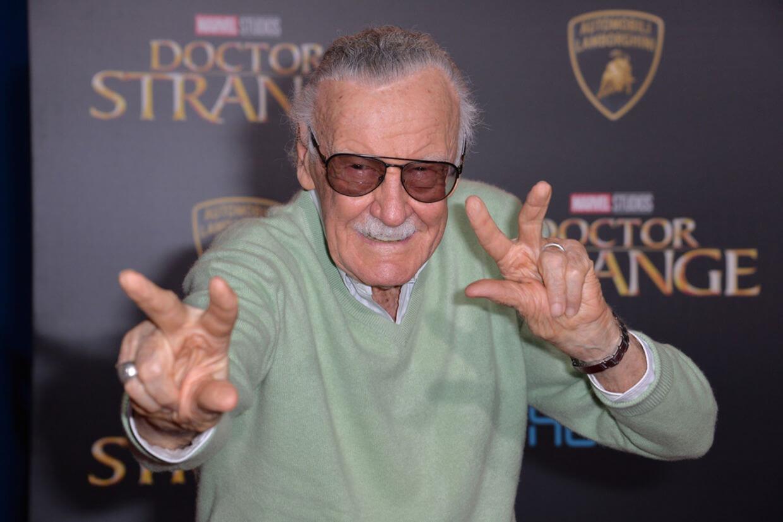 2018 年末以高壽辭世的漫威之父史丹李 (Stan Lee)。