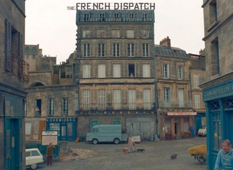 《法蘭西快報》(暫譯,The French Dispatch) 劇照