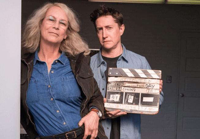 潔美李寇蒂斯與《月光光新慌慌》導演大衛高登格林合作無間。