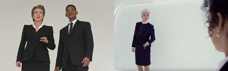 《MIB星際戰警:跨國行動》預告中的「探員 O」艾瑪湯普遜一角比起《MIB 星際戰警 3》要來的「長大」了不少。