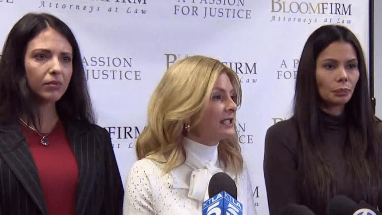出面指控史蒂芬席格性侵女星的法薇歐拉達迪絲、瑞吉娜西蒙斯等受害女性。