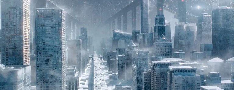 改編自同名小說的中國科幻電影《流浪地球》(The Wandering Earth) 劇照,該片中國票房表現亮眼,但登上 Netflix 平台後的迴響卻不如預期。