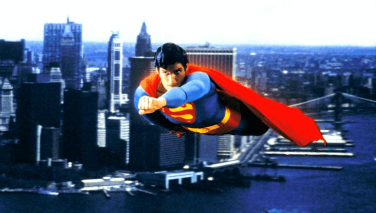 1978 年的《超人》利用特效做出超人翱翔天際的驚人視效,讓觀眾大開眼界。