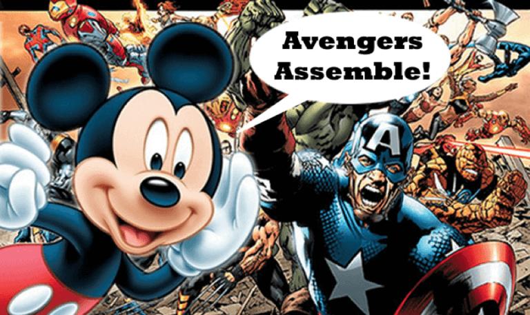 2009 年迪士尼集團收購漫威,從此改變了漫威超級英雄電影的發展。