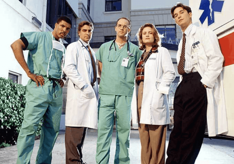 包括喬治克隆尼與諾亞懷利等演員卡司的熱播影集《急診室的春天》。